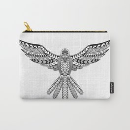 Dove Tribal Tattoo Carry-All Pouch