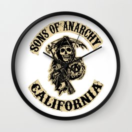 Sons of anarchy Motorcycle club Wall Clock