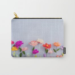 Handmade paper flowers Carry-All Pouch