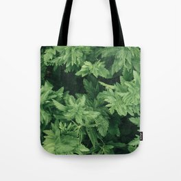 Above the Plants Tote Bag