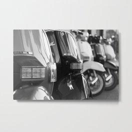 Scooters Metal Print