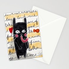 A Cat's Thoughts Stationery Cards