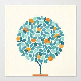 Tropical Mango Tree Canvas Print
