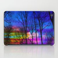 the moon iPad Cases featuring Moon by haroulita