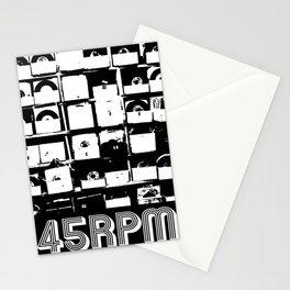 45 RPM Vinyl Record Shack Stationery Cards