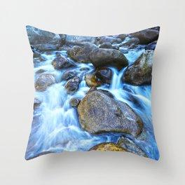 Merced River Throw Pillow