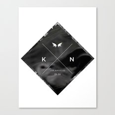 Kuro Noir  Canvas Print