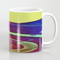 hook Mugs featuring Hook Echo by David Lee