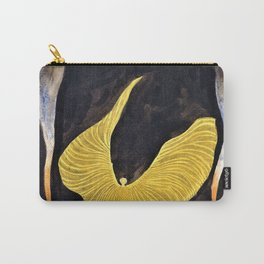 Koloman Moser - Loie Fuller in the Dance, The Archangel - Digital Remastered Edition Carry-All Pouch