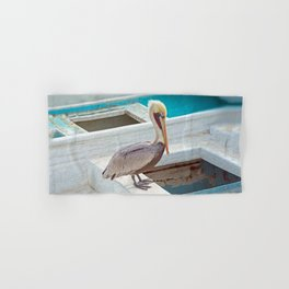 PELICAN POSE Hand & Bath Towel