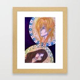 Its only Forever Framed Art Print