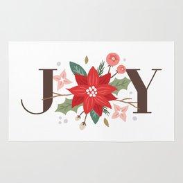 Joy Flourish - Pearl Rug