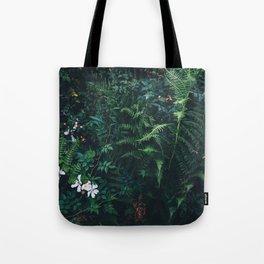 Fleurs Vertes Tote Bag