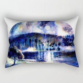 Landscape 1890 by Camille Pissarro Rectangular Pillow