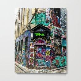 Melbourne Love Metal Print