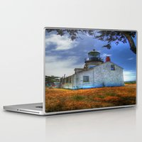 lighthouse Laptop & iPad Skins featuring Lighthouse by Christine Workman