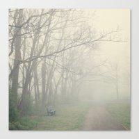 fog Canvas Prints featuring Fog by Laura Ruth
