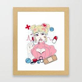 Nurse Girl Framed Art Print