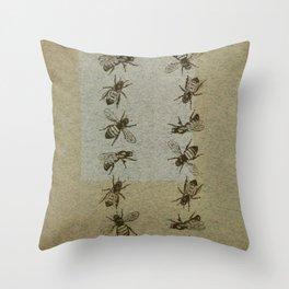 Bee Line Throw Pillow