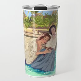 Claire&Jamie Travel Mug