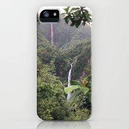 les chutes du carbet iPhone Case