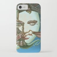 elvis presley iPhone & iPod Cases featuring Elvis Presley by Victor Molev