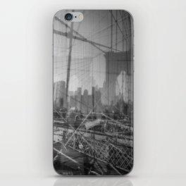 Brooklyn Bridge 3x iPhone Skin