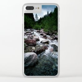 Wild Waters in South Tyrol Clear iPhone Case