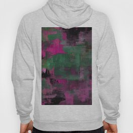 Deep Purple - Abstract, textured painting Hoody