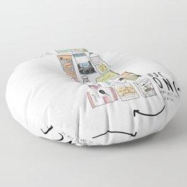 Shopping Essentials Floor Pillow