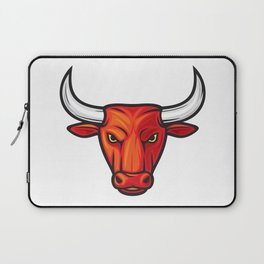 bull head design Laptop Sleeve