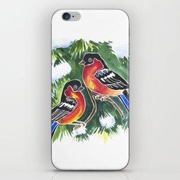Red Birds iPhone Skin