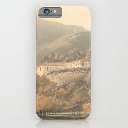 """J.M.W. Turner """"Santa Lucia, A Convent near Caserta"""" iPhone Case"""