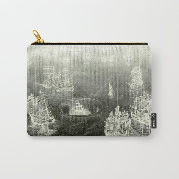 """""""Fog Bank"""" Carry-All Pouch"""