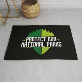 Protect Our National Parks Rug