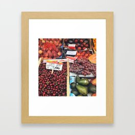 Mercato di Rialto Framed Art Print