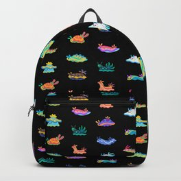 Sea slug - black Backpack