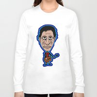 lou reed Long Sleeve T-shirts featuring Lou Reed Rock God by Adam Metzner