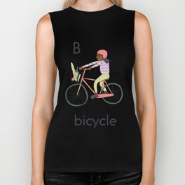 B is for Bicycle Biker Tank