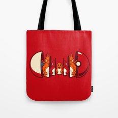 Poketryoshka - Fire Type Tote Bag