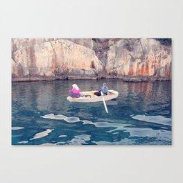 Pink blouse Canvas Print
