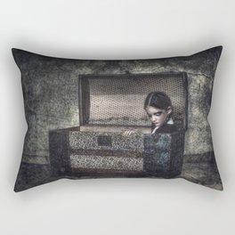 What the Attic Found Rectangular Pillow