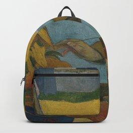 Paul Gauguin - Vincent van Gogh Painting Sunflowers Backpack