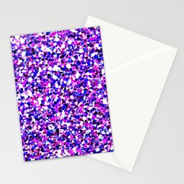 Pink and Blue Party Mermaid Stationery Cards