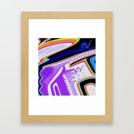 Just do you, boo. Framed Art Print