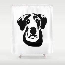 GREAT DANE DOG Shower Curtain