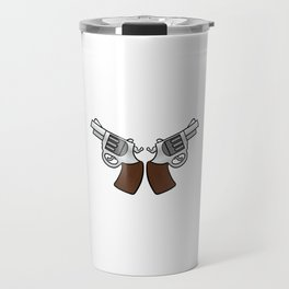 """Everyday Carry Use Break Through Clean"" for both cool and gun lovers like you! Stay brave!  Travel Mug"