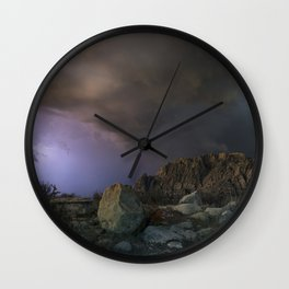 approaching pavonis mons Wall Clock