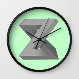 Zed's Dead Wall Clock