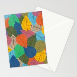 Leaves, Leaves, Leaves - Autumn is Coming - 57 Montgomery Ave Stationery Cards